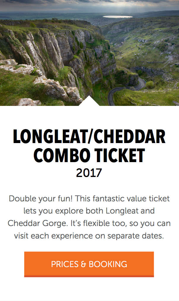 longleat combo ticket